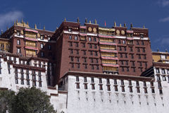 Potala Palace - Lhasa - Tibet Royalty Free Stock Photo