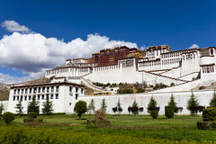Potala Palace at Lhasa, Tibet Stock Photos