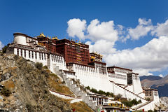 Potala Palace at Lhasa, Tibet royalty free stock photos