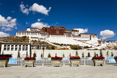 Potala Palace at Lhasa, Tibet Royalty Free Stock Photo