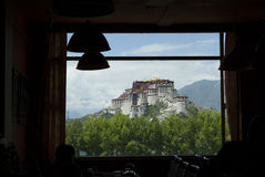 Potala Palace in Lhasa. Of Tibet Royalty Free Stock Image