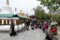 Potala Palace. In Lhasa,Tibet royalty free stock image