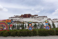 Potala Palace. In Lhasa,Tibet Royalty Free Stock Photography
