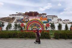 Potala Palace. In Lhasa,Tibet royalty free stock photo