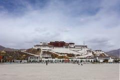 Potala Palace. In Lhasa,Tibet stock images