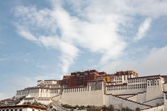 Potala palace in Lhasa, Tibet Stock Photo