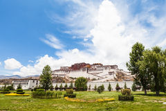 Potala Palace in Lhasa of Tibet Royalty Free Stock Photos