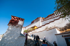 Potala palace Royalty Free Stock Photos