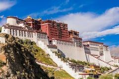 The Potala Palace. In Lhasa, Tibet, China Royalty Free Stock Image