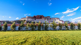 The Potala Palace. In Lhasa, Tibet, China Stock Photo