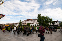 Potala palace Royalty Free Stock Images