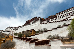 Potala Palace in Lhasa. Tibet, China Royalty Free Stock Photos