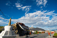 Potala palace in Lhasa, Tibet Royalty Free Stock Photo