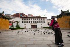 Potala palace Stock Image