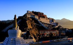 Potala Palace in Lhasa, Tibet Stock Photography
