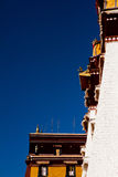 Potala Palace Lhasa Tibet with clear skies Royalty Free Stock Image