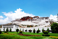 Potala Palace in Lhasa, Tibet Royalty Free Stock Images