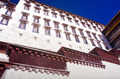 Potala Palace Tibet Royalty Free Stock Photography