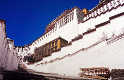 Potala Palace Tibet Royalty Free Stock Photo