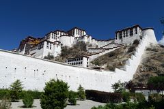 Potala Palace Stock Photo