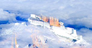 The Potala Palace Royalty Free Stock Images