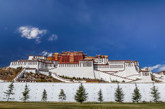 Potala Palace in Lhasa Royalty Free Stock Photo