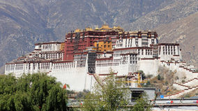 The potala palace Royalty Free Stock Photography