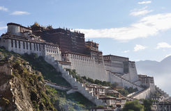 Potala palace in the morning Stock Image