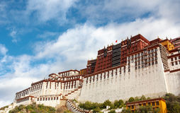 The Potala palace in the morning sun Stock Photography