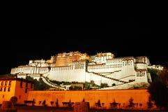 The Potala palace at night Royalty Free Stock Photography