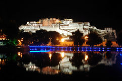 The Potala palace at night Royalty Free Stock Photography