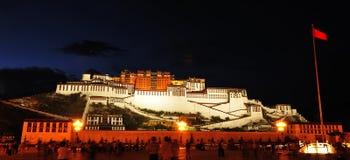 Potala Palace(night) Stock Image