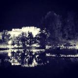 Potala. The potala palace in the night Stock Photos