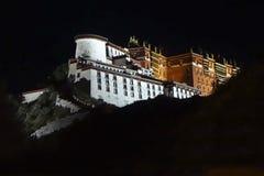 Potala Palace Night Royalty Free Stock Image