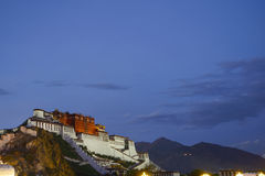 Potala Palace Night Royalty Free Stock Photo