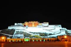 Potala Palace Night View Royalty Free Stock Photos