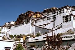 Potala Palace. Potala Palace - the residence of the Dalai Lama in Lhasa Royalty Free Stock Image