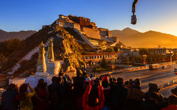 Potala Palace, Rizhao Royalty Free Stock Images
