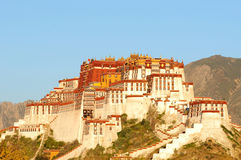 Potala Palace at sunrise Royalty Free Stock Photo