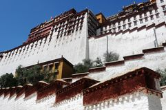 Potala Palace in Tibet Royalty Free Stock Images