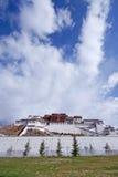 Potala palace, Tibet. Front view of Potala palace, Lhasa, tibet Stock Photography