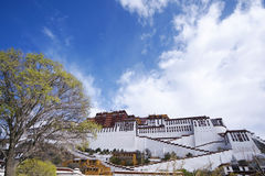 Potala palace, Tibet Royalty Free Stock Photography
