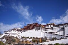 Potala palace, Tibet. Front view of Potala palace, Lhasa, tibet Stock Images