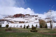 Potala palace, Tibet. View of Potala palace, Lhasa, tibet Stock Images