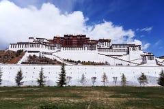 Potala palace, Tibet. View of Potala palace, Lhasa, tibet Stock Photo