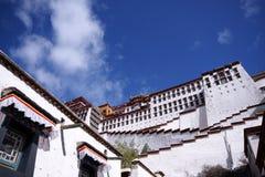 Potala palace, Tibet. View of Potala palace, Lhasa, tibet Stock Image