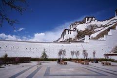 Potala palace, Tibet. View of Potala palace, Lhasa, tibet Royalty Free Stock Image