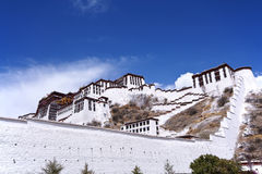 Potala palace, Tibet. View of Potala palace, Lhasa, tibet Royalty Free Stock Photo