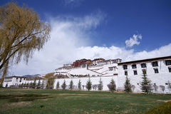 Potala palace, Tibet. View of Potala palace, Lhasa, tibet Royalty Free Stock Images