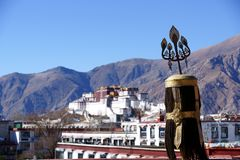 Potala Palace in TIBET Royalty Free Stock Image